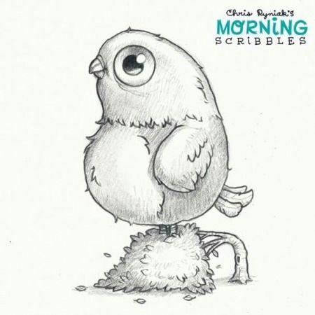 Лучшие рисунки для срисовки монстры (18)