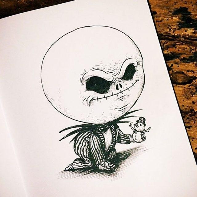 Лучшие рисунки для срисовки монстры (26)