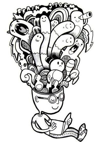 Лучшие рисунки для срисовки монстры (27)