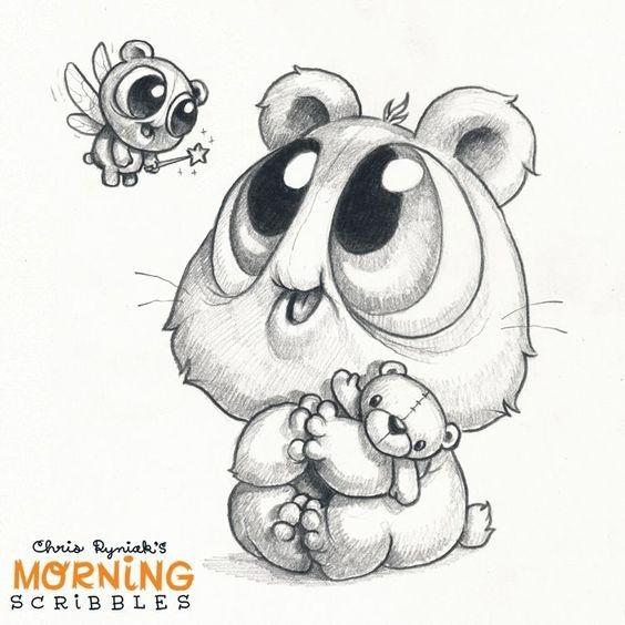 Лучшие рисунки для срисовки монстры (3)