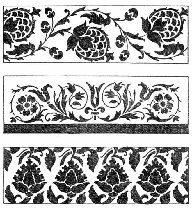 Орнаменты в полосе картинки (10)