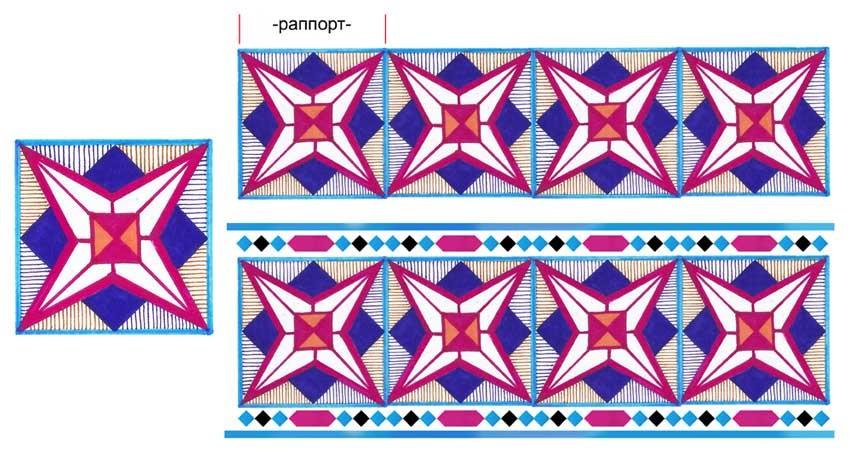 Орнаменты в полосе картинки (11)