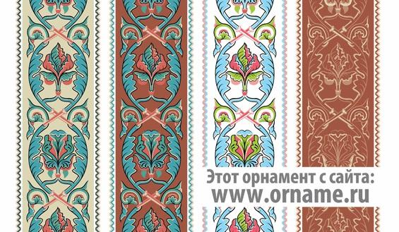 Орнаменты в полосе картинки (12)