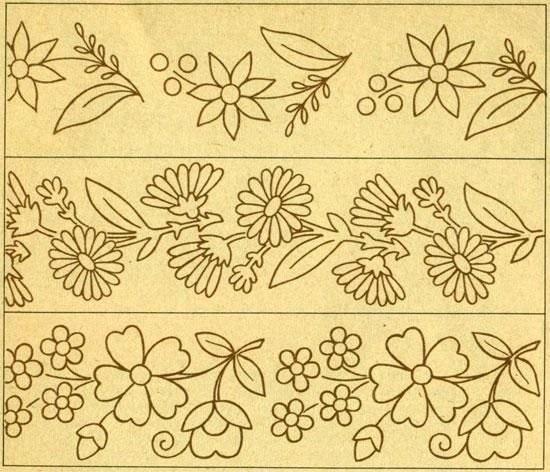 Орнаменты в полосе картинки (15)