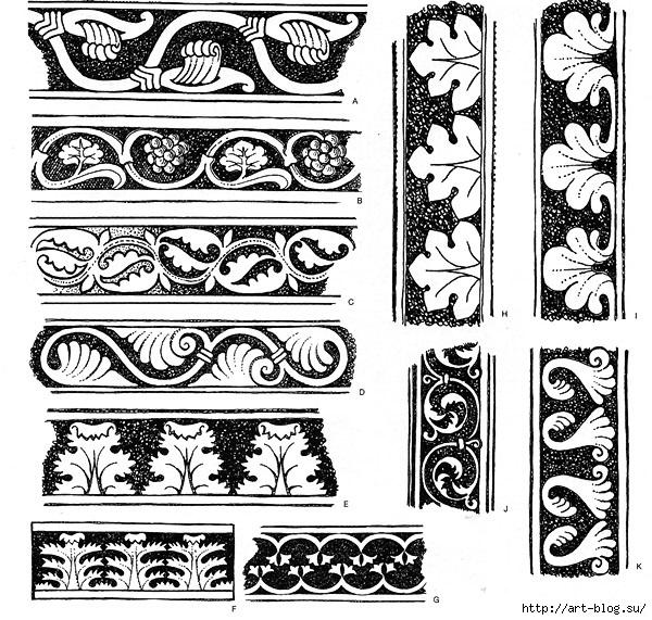 Орнаменты в полосе картинки (5)
