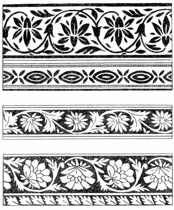 Орнаменты в полосе картинки (8)