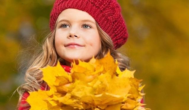 Осенняя фотография ребенка (11)
