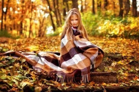 Осенняя фотография ребенка (13)