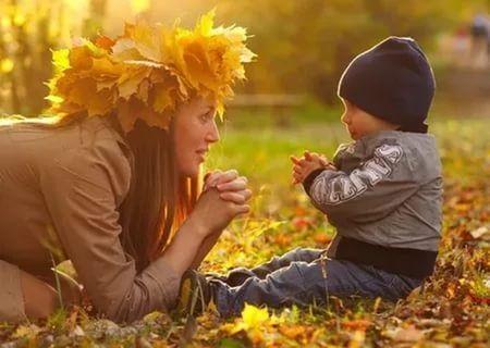 Осенняя фотография ребенка (15)