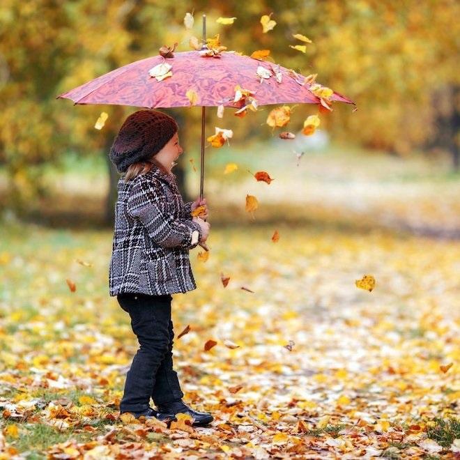 Осенняя фотография ребенка (17)