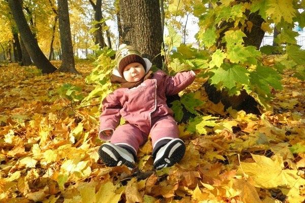 Осенняя фотография ребенка (18)