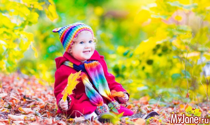 Осенняя фотография ребенка (2)
