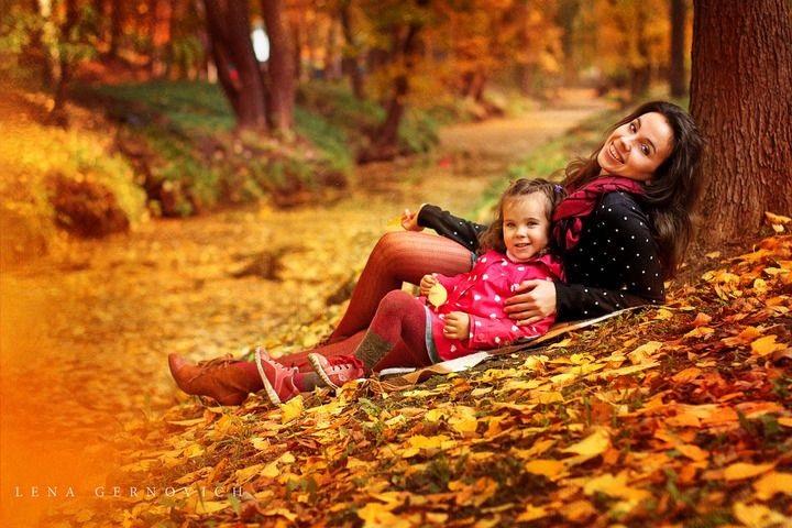 Осенняя фотография ребенка (21)