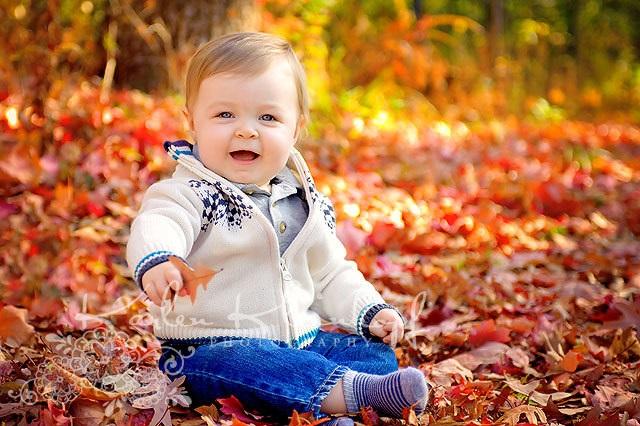 Осенняя фотография ребенка (22)