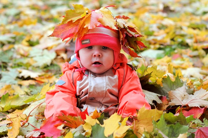 Осенняя фотография ребенка (23)