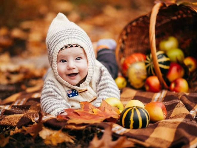 Осенняя фотография ребенка (3)
