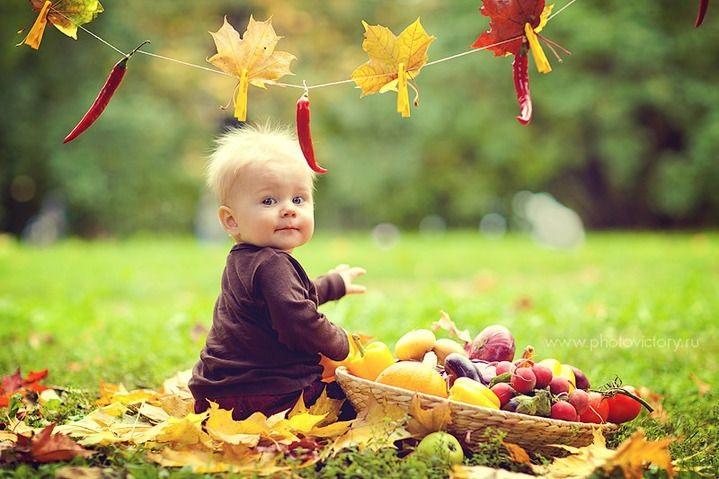 Осенняя фотография ребенка (4)
