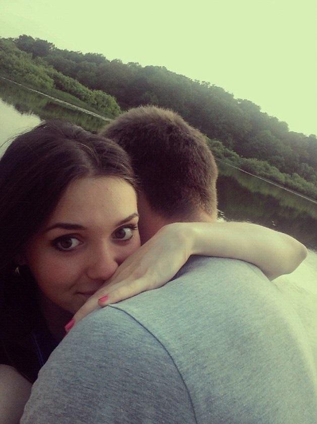 Пары влюбленных селфи фото (1)