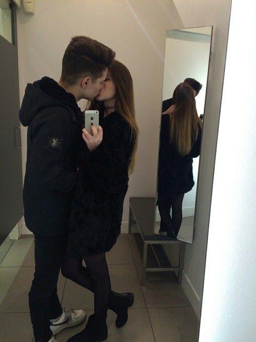 Пары влюбленных селфи фото (16)