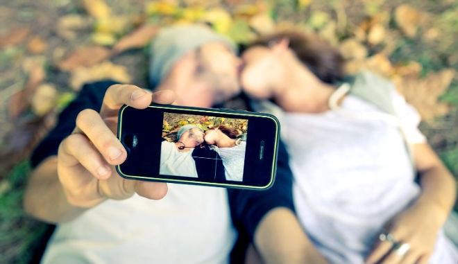 Пары влюбленных селфи фото (18)