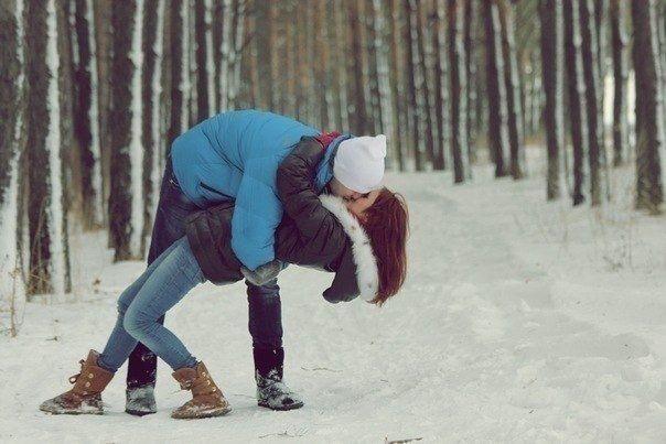 Пары фото зима - подборка (11)