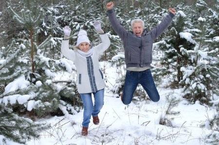 Пары фото зима - подборка (12)
