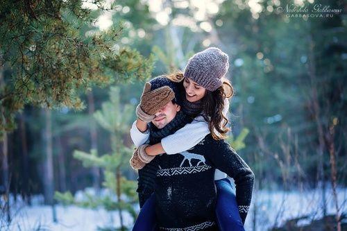 Пары фото зима - подборка (16)
