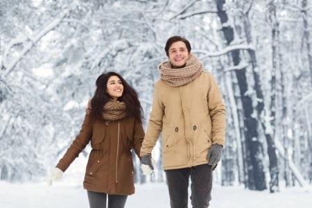 Пары фото зима - подборка (18)