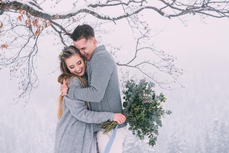 Пары фото зима - подборка (2)