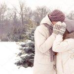 Пары фото зима — подборка
