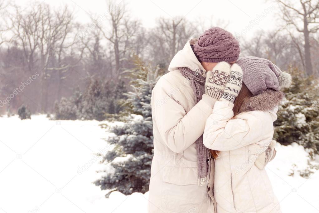 Пары фото зима - подборка (23)
