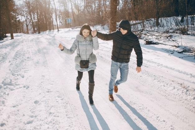 Пары фото зима - подборка (4)