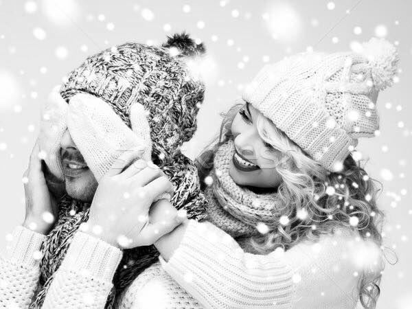 Пары фото зима - подборка (8)