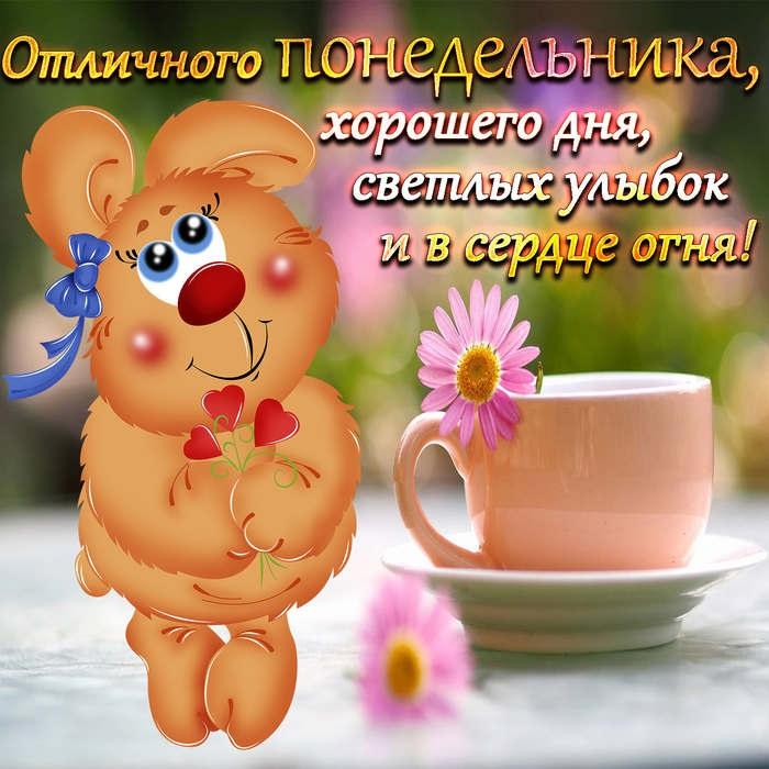 Понедельник с добрым утром картинки (3)