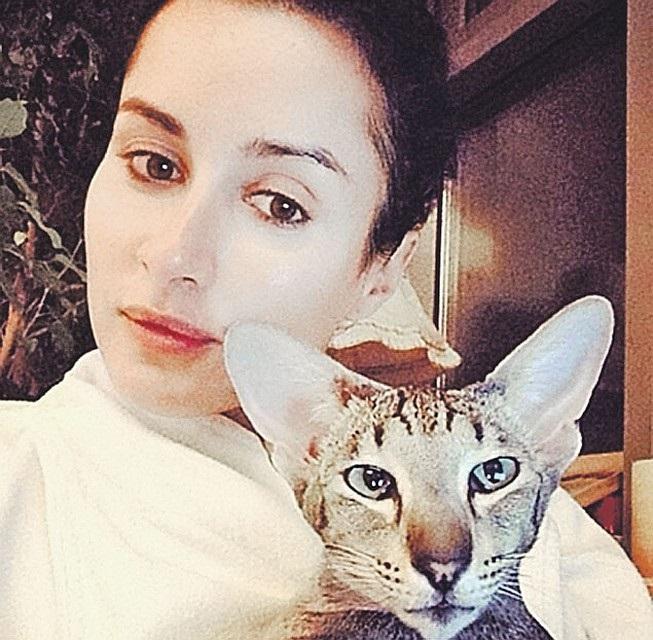 Популярные фото Павла Воли с котом (17)
