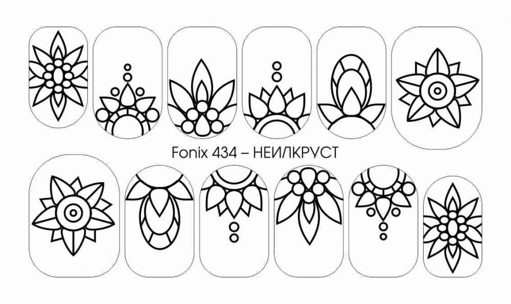 Рисунки шаблоны для ногтей (11)