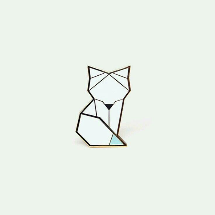 Рисунок в стиле оригами (12)