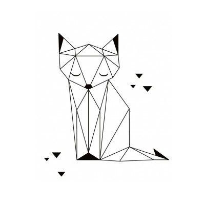 Рисунок в стиле оригами (14)