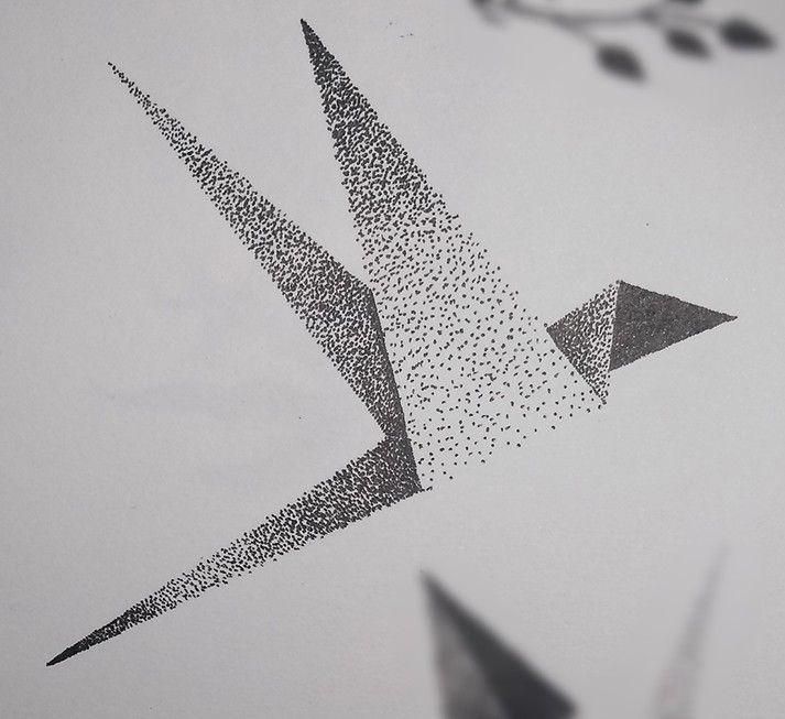 Рисунок в стиле оригами (19)