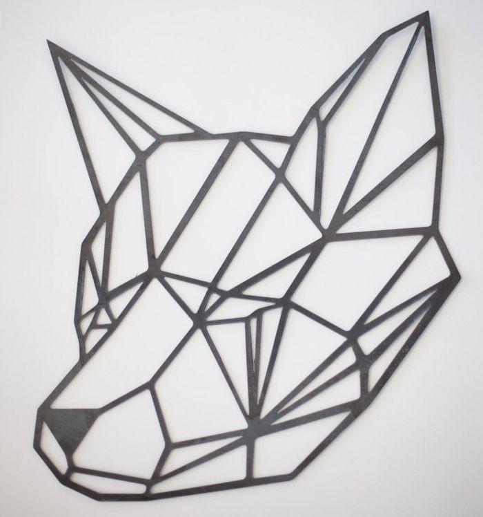 Рисунок в стиле оригами (22)