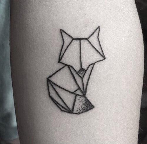 Рисунок в стиле оригами (23)