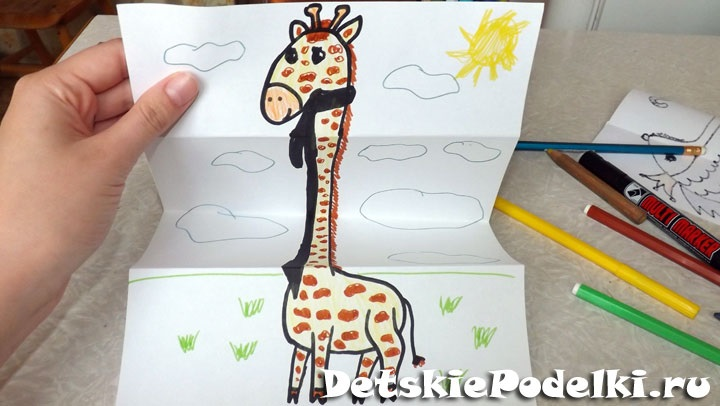 Рисунок гармошки для детей (1)