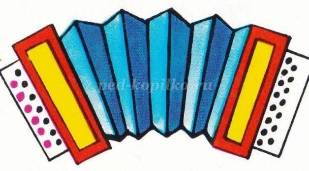 Рисунок гармошки для детей (9)