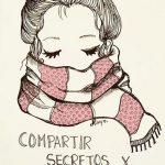 Рисунок девочка в свитере