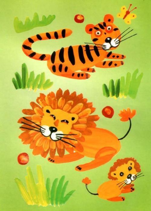 Рисунок для детей африка (1)