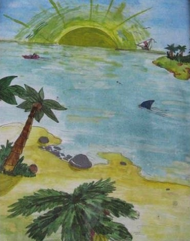 Рисунок для детей африка (12)