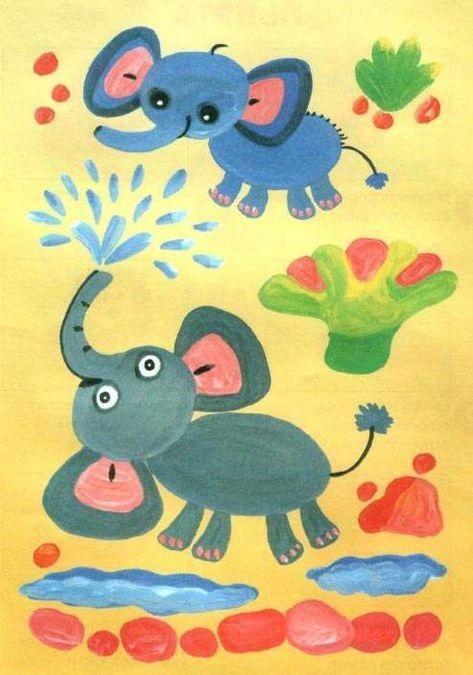 Рисунок для детей африка (23)