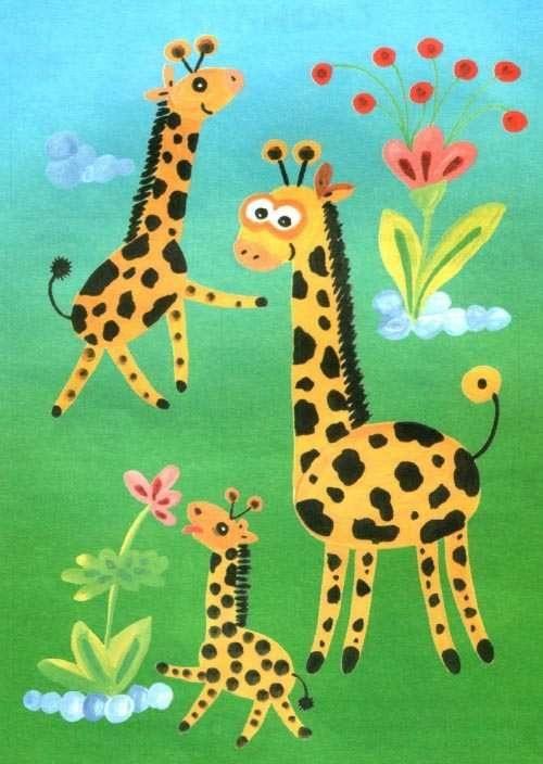 Рисунок для детей африка (24)