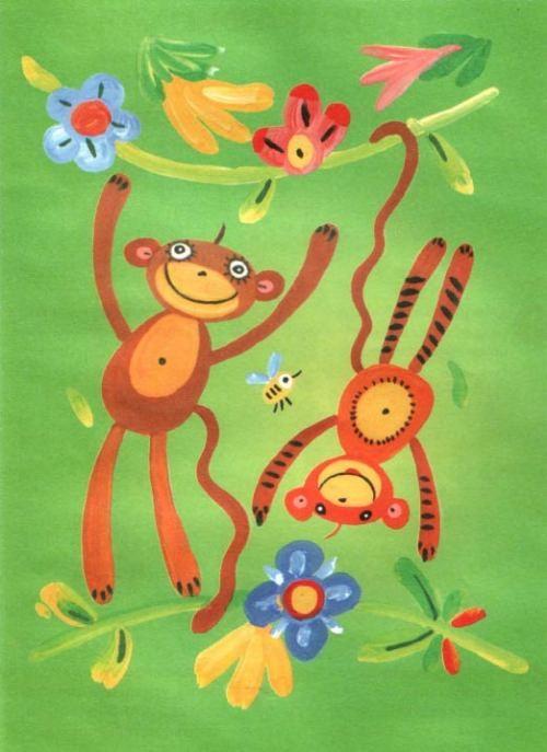 Рисунок для детей африка (26)