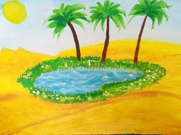 Рисунок для детей африка (3)